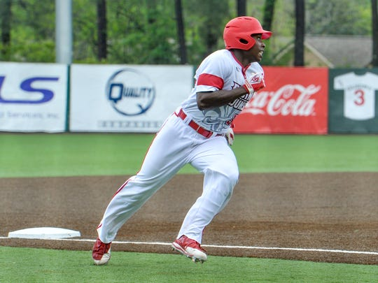 UL's Ishmael Edwards had another two-hit game for the Cajuns, who faltered in the ninth again and had to settle for a 7-7 tie at Coastal Carolina.