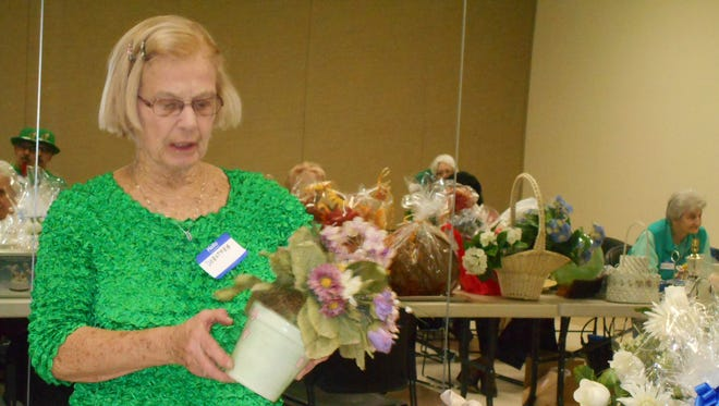 The Piscataway Garden Club will hold its annual auction on March 16.