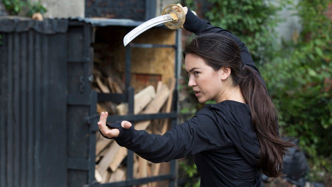 Jessica Henwick wields a sword and attitude as Colleen Wing in 'Marvel's Iron Fist.'