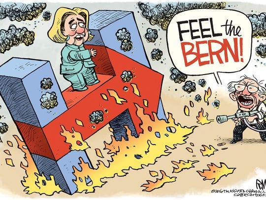 "Feeling ""The Bern"""