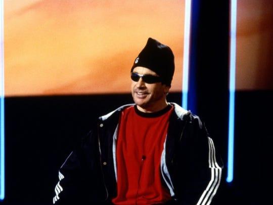 "Warren Beatty stars in the 1998 film ""Bulworth."""