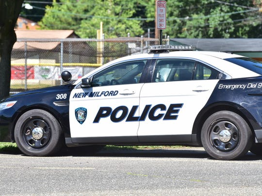 A file photo of a New Milford police car.