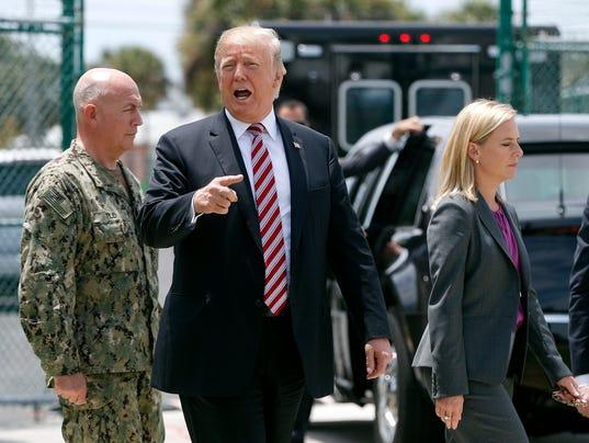 Donald Trump, Kirstjen Nielsen, Kurt Walter Tidd