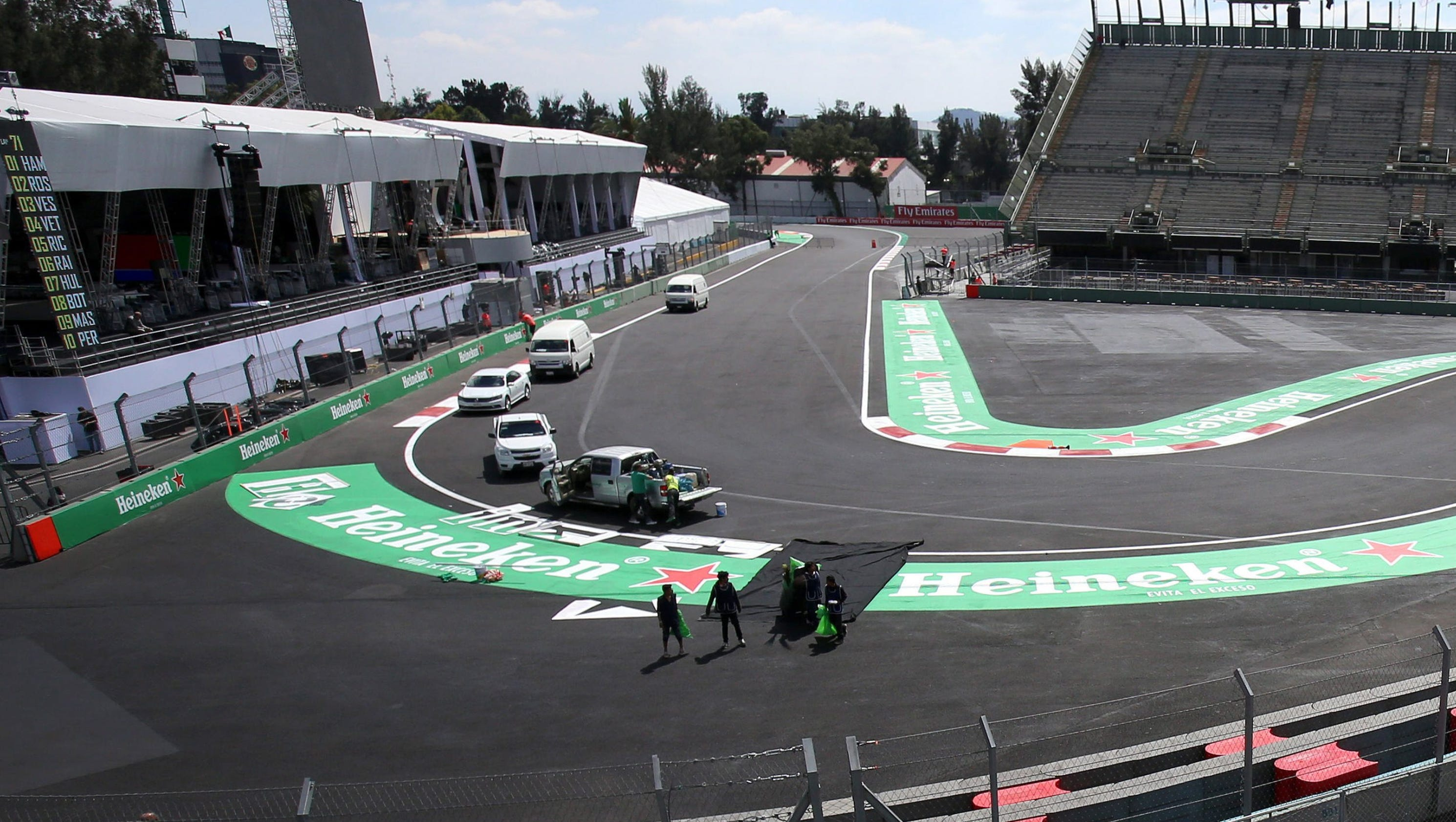 Mexico City hosts Formula One grand prix one month after ...