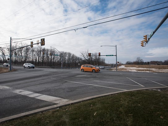 Route 72 and Rocherty is being prepped for construction.