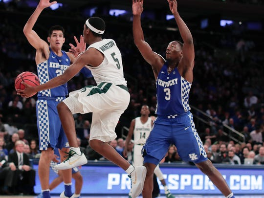 Cassius Winston will see a much different Kentucky team this season.
