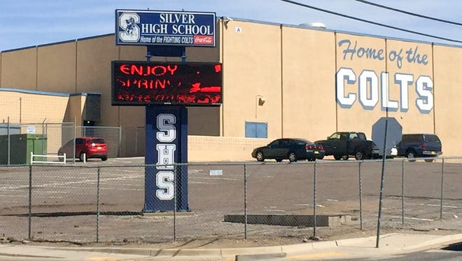 Silver High School, seen in a 2017 file photo.