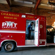 In 2013, Chandler Fire Department began a deal with PMT Ambulance under which seven PMT Ambulances are assigned to Chandler fire stations.