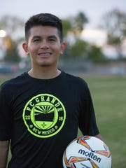"Alexis Ruiz, founder of FC Grande Soccer club, Monday November 13, 2017 at the Soldados Multi Use Complex.  ""This area has needed something like this,"" he said. ""There's too much talent out here for there not to be a team like this."""