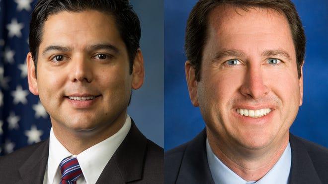 Raul Ruiz (left) and Brian Nestande (right).