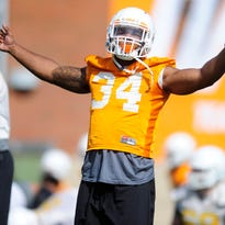Linebacker Darrin Kirkland Jr. is 'the last of the Mohicans' for Tennessee's defense