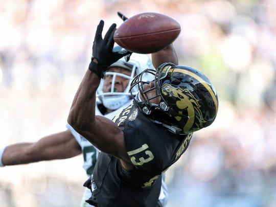 Western Michigan Broncos wide receiver Keishawn Watson