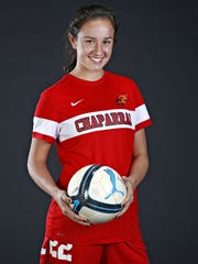 Scottsdale Chaparral soccer player Allison Jorden is