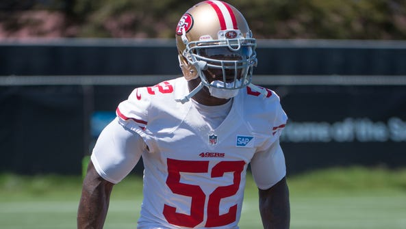 Patrick Willis was one of four players to announce