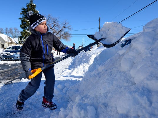 PHOTOS: Digging out from Jonas