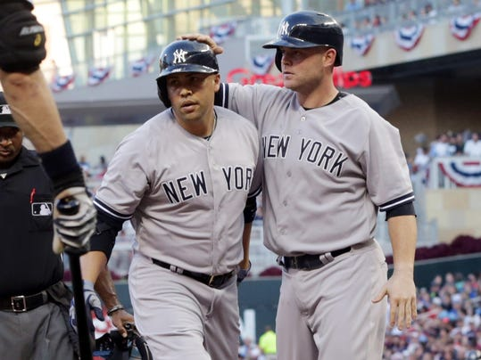 Yankees Twins Baseball