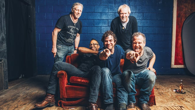 The Dean Ween Group plays on the beach in Asbury Park on Saturday, Sept. 24.