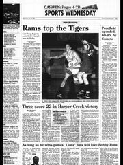 Battle Creek Sports History: Week of Jan. 12, 1997