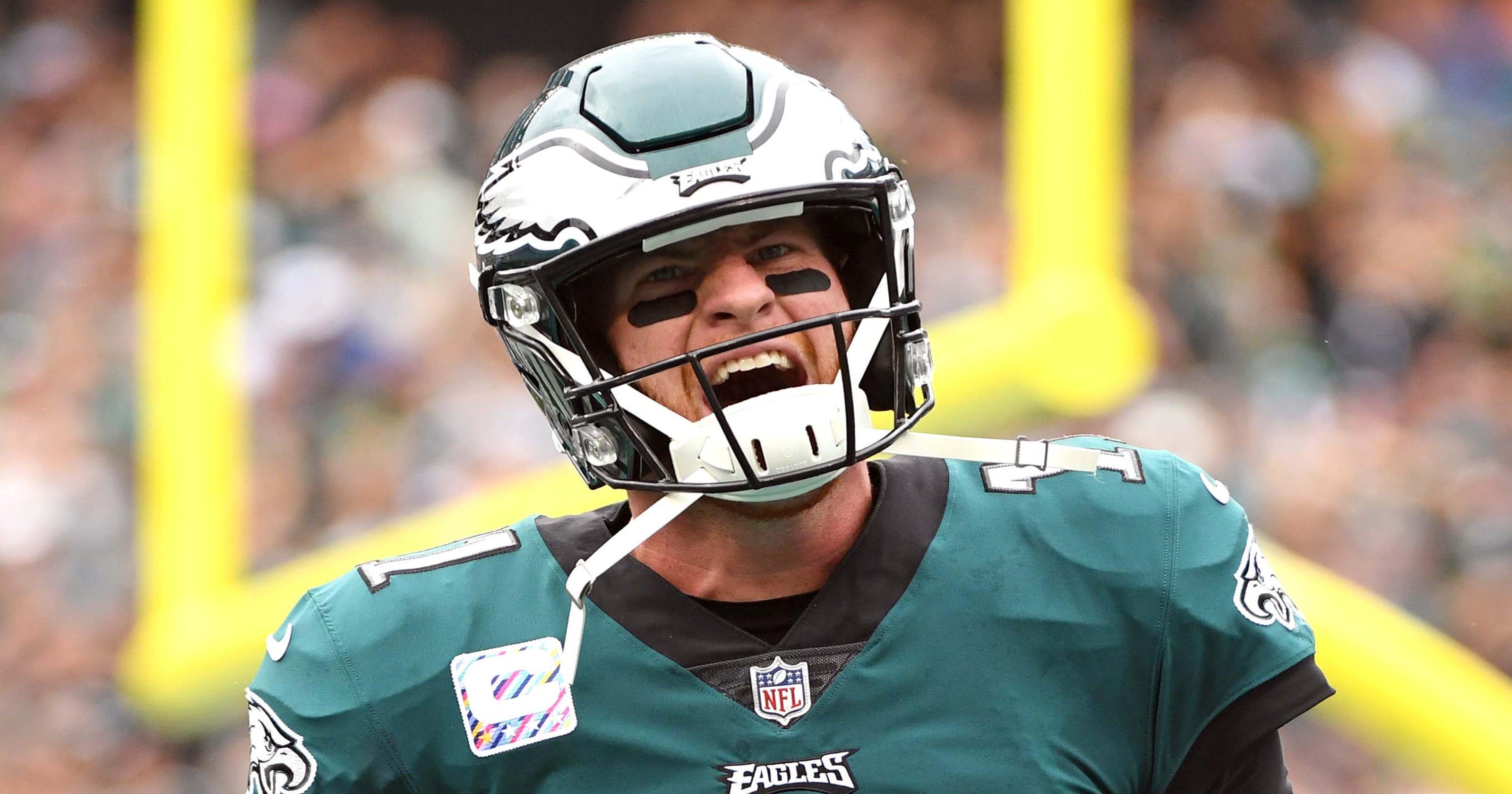 3fe67bbd1a9 Carson Wentz for MVP highlights NFL midseason takeaways