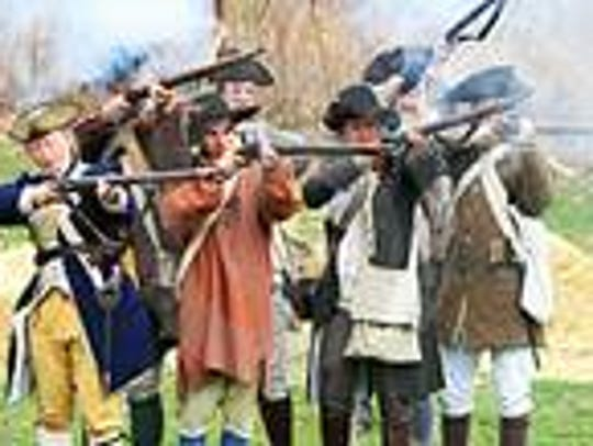 The annual Battle of Bound Brook Living History Event