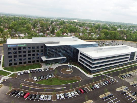 """Bon Secours Mercy Health said it's aiming to put 500 jobs at the Bond Hill campus that Mercy Health built before its 2018 merger with the Baltimore hospital system. Company officials don't want to call it the headquarters -- they prefer the word """"hub."""""""
