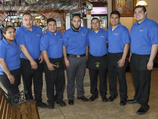 The staff at Monterrey Mexican Restaurant in Altoona