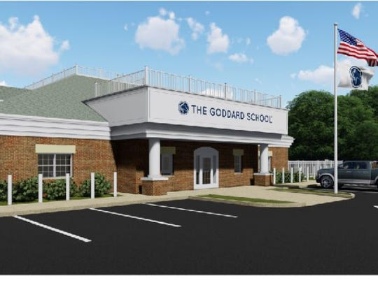 Rendering of what the Goddard School of Cordova will look like.