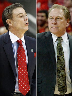 Coaches like Louisville's Rick Pitino and Michigan State's Tom Izzo make the difference in March