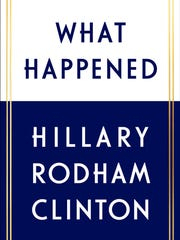 """What Happened"" by Hillary Rodham Clinton (Simon & Schuster)"