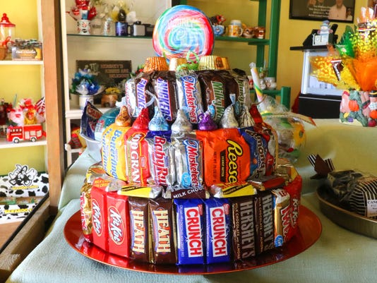 Wauwatosa Candy Bouquet store between two dentists