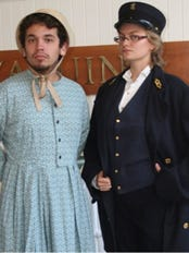 Cross-dressing lighthouse keepers will highlight Halloween at Yaquina Head.