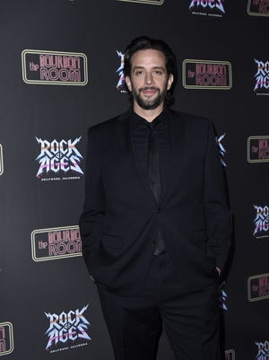 """Nick Cordero attends opening night of """"Rock Of Ages Hollywood"""" Jan. 15, 2020, in Hollywood, California. Cordero died Sunday after months battling COVID-19."""