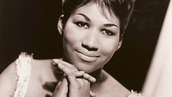 Aretha Franklin early in her career.