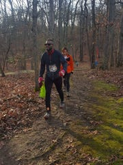 Lee Starks, 41, of Plainfield recently ran a 100-mile Devil Dog Ultra Marathon to raise funds for local underpriviledged kids to attend boxing and fitness classes at Plainfield Boxing Academy.
