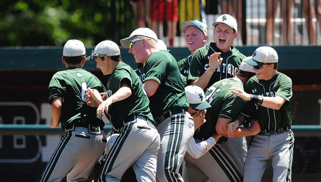 Portland St. Patrick, which finished as the Division 4 state runner-up last season, is No. 2 in the latest state baseball rankings. The Shamrocks are off to a 9-0-1 start.
