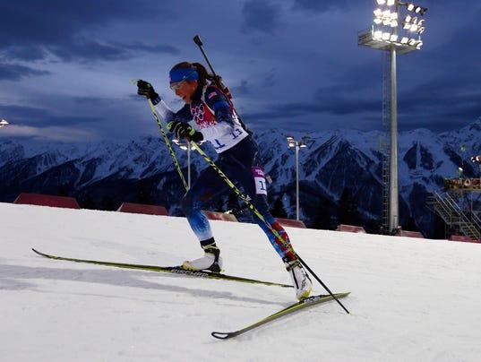 Olympics: Biathlon-Women's 7.5km Sprint