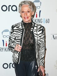 Tippi Hedren on May 1, 2017 in West Hollywood, Calif.