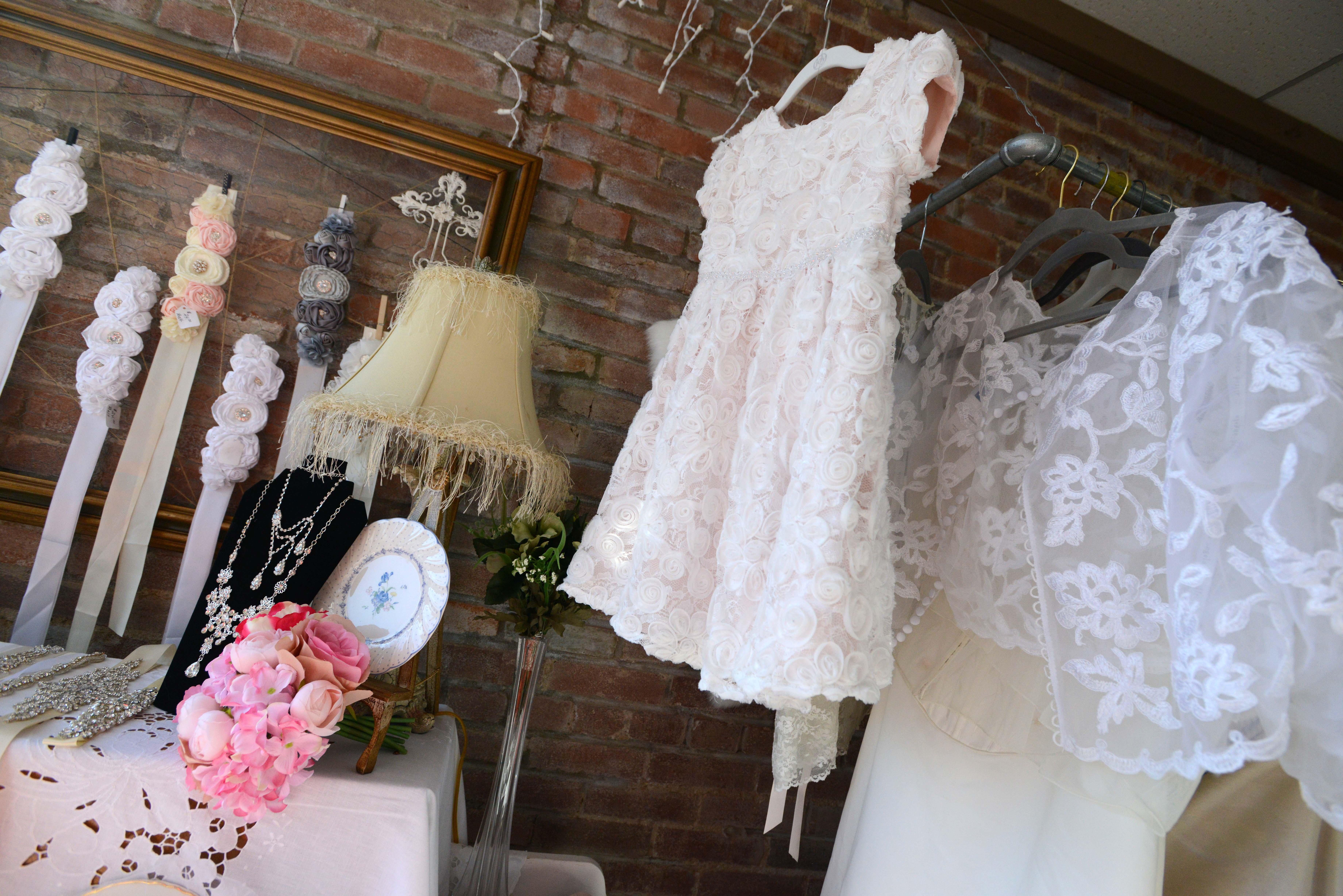 Wedding dress resale shop stays busy in