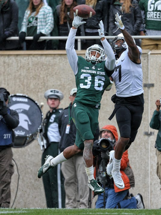 NCAA Football: Purdue at Michigan State