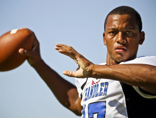 Chandler alum Brett Hundley could be a possibility at backup quarterback for the Cardinals.