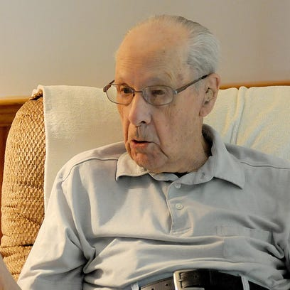 The family of Ed Harpster, 101, of Lexington, said he had a long wait and slow response time during a 911 call earlier this summer.