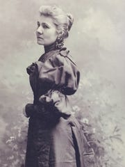 Helen Piotopowaka Clarke, circa 1895, was one of the