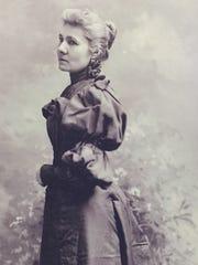 Helen Piotopowaka Clarke, circa 1895, was one of the