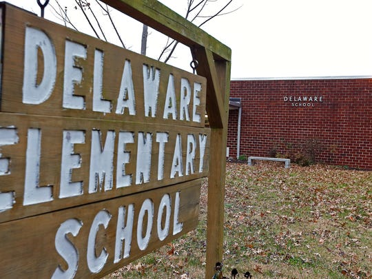 """Delaware Elementary is one of five schools singled out by the state as needing """"comprehensive"""" improvement."""