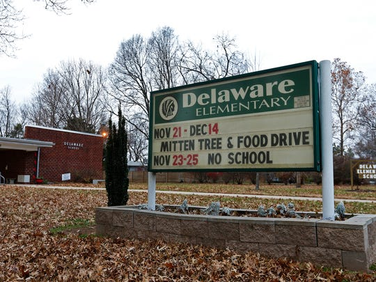 Delaware Elementary School is one of four elementary