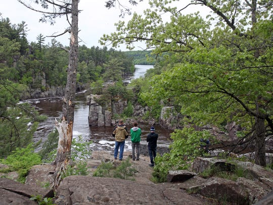 Interstate State Park is Wisconsin's oldest state park,