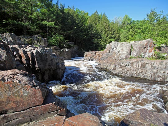 The Dells of the Eau Claire River is a scenic state natural area and county park east of Wausau.