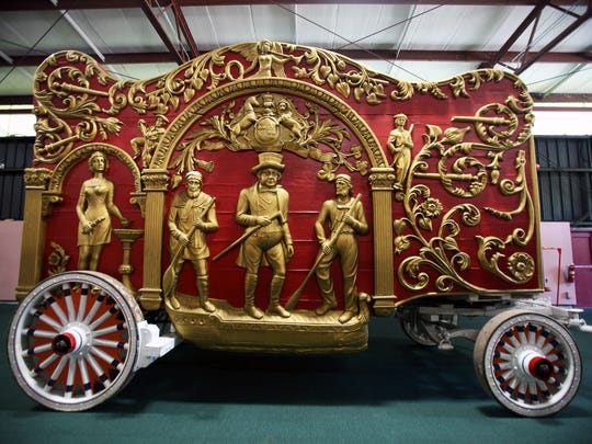 Circus World in Baraboo is home to the largest collection of circus wagons in the world.