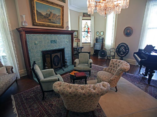 Black Point Estate on Geneva Lake contains all of the furniture from the family that used it as a summer home for five generations.