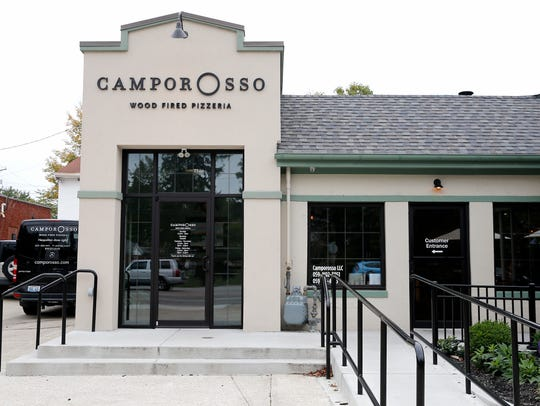 Thu., Oct. 12, 2017: Camporosso Wood Fired Pizzeria